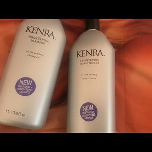 Kenra purple shampoo and conditioner